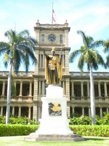 Aliiolani Hale - King Kamehameha I Statue