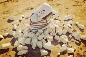 Stoning - an Art Piece by Spanish Artist Pablo Camps