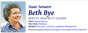Connecticut State Senator Beth Bye