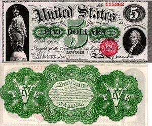 U.S. Currency - Civil War Era